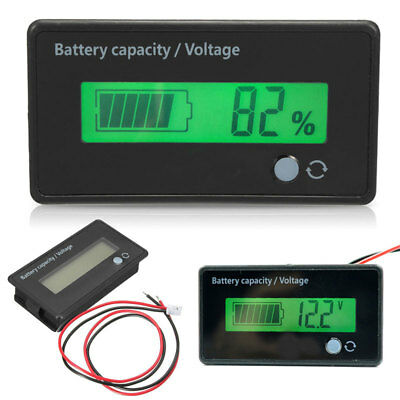 12V 36V lead Acid battery indicator batteries Capacity Tester Digital LCD meter