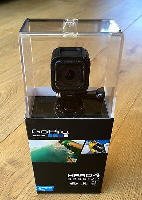 GoPro HERO4 Session Camcorder - Black, Excellent Condition