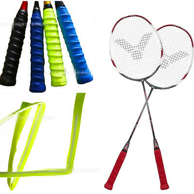Non Slip Racket Over Grips Tennis Badminton Racquet Stretchy Squash Tape