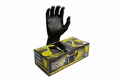 Black Mamba Super Strong Heavy Duty Disposable Nitrile Gloves
