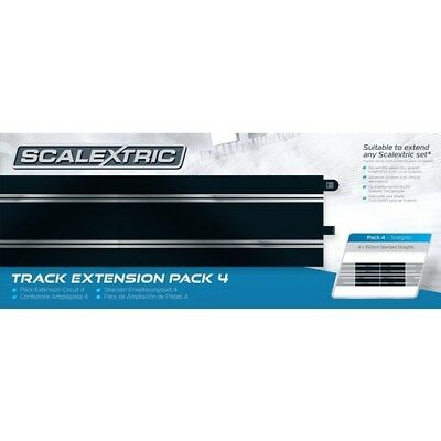 Scalex Track Ext Pack 4 Straights C8526