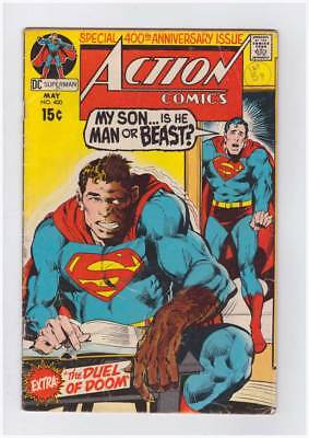 Action Comics # 400 My Son... Is He Man or Beast ! grade - 3.0 scarce book !!