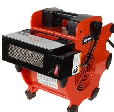 Industrial Heavy Duty Fan Blower Portable with Heater Attachment Air Mover