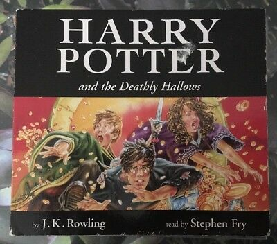 Harry Potter And The Deathly Hallows Cd Audio Book Ready By Jim Dale