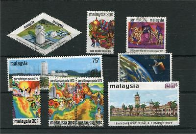 Malaysia 9 -- Recent Used Stamps On Stockcard