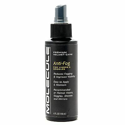 Molecule Race & Motorcycle Helmet Visor Anti-Fog Spray 118ml