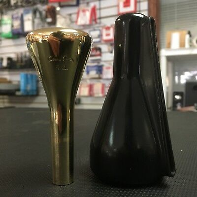 Christian Lindberg - 5CL Gold Plate Large Shank Trombone Mouthpiece USED