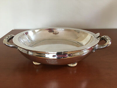STUNNING Antique c1835 G R COLLIS & CO Silver Plated Serving Dish Water Warmer