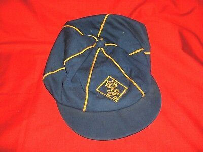 #269C - Vintage Cub  Scout Uniform Hat, Cap - Size 6 7/8 - For Display