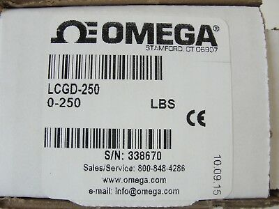 Omega Load Cell, LCGD-250, 0-250 LBS