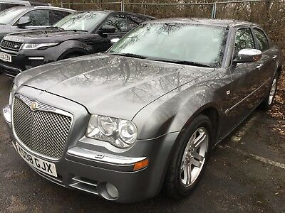 08 Chrysler 300C 3.0 V6 Crd Auto, Spares Or Repair Steering Iffy,abs Lights Etc