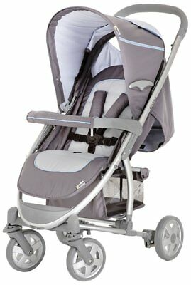 Hauck Malibu Stroller and Universal Car Seat Adapter-New in Box-Grey