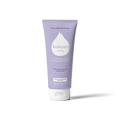 Kokoso Baby Wash for Skin and Hair – Organic and Delicate (Softly Scented)