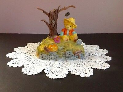 Cherished Teddies Halloween's A Boo-tiful Thing 2004 Lights Sounds Avon
