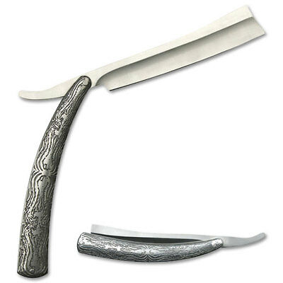 "10.5"" Sweeney Todd Barber Straight Razor Blade Shaving Knife"