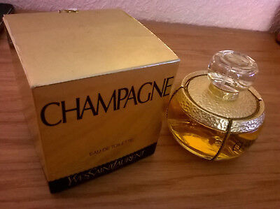 Flacon eau de toilette YSL Champagne Yves Saint Laurent 100ml.