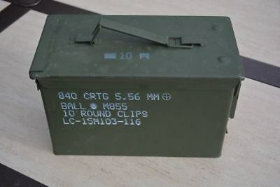 ONE- 50 Cal Ammo Can Army Military M2A1orM2A2/Metal Storage Box Buy 3,get 1 free