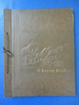 Vintage Scrapbook with Chicago Area Inland Yachting Ephemera & Some Plans, 1940s