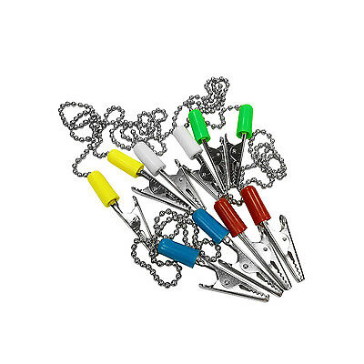 40 Pack Patient Bib Clips Chains Napkin Holder Assorted Dental Tattoo Medical