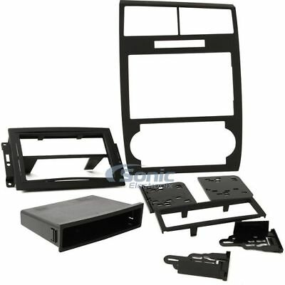 METRA 99-6519B Single/Double DIN Dash Kit For 2005-2007 Dodge Charger/Magnum