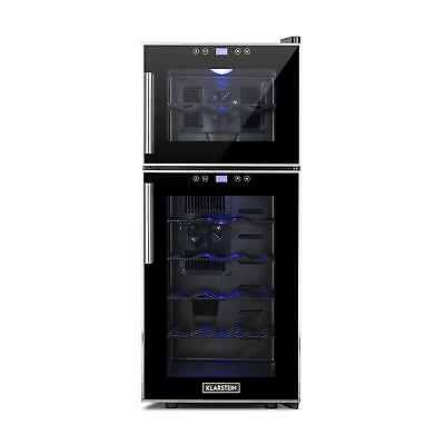 Wine Cooler Fridge LCD display restaurant bar catering event dual cooling zones