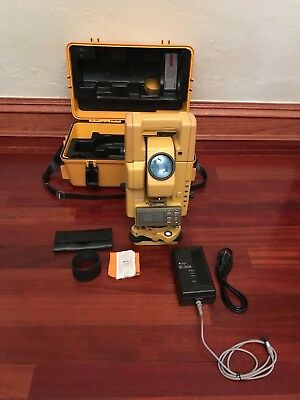 Topcon GTS-300 series Total Station Survey equipment New battery