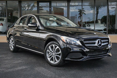 "Mercedes-Benz C-Class 4dr Sedan C 300 4MATIC '15 Mercedes Benz C300 4Matic,17""Wheels, Prem.Pkg, Rear Camera,Pano, LED Lights"