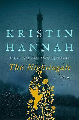 The Nightingale by Kristin Hannah: like new, with dust cover in excellent shape