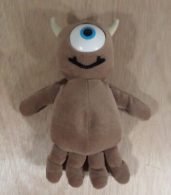 """Disney Monsters Inc - Little Mikey Mike's Buddy 9"""" Plush Soft Toy (Disney Store)"""