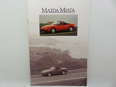Mazda Miata MX-5 1990 Sales Catalog Brochure