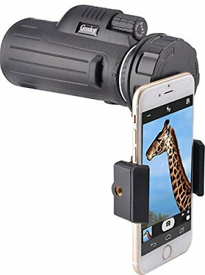 Gosky 8 x 42 monoculare compatto smartphone kit adattatore per bird watching cac