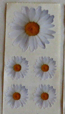 StickyPix  WHITE DAISIES - Stickers From Paper House