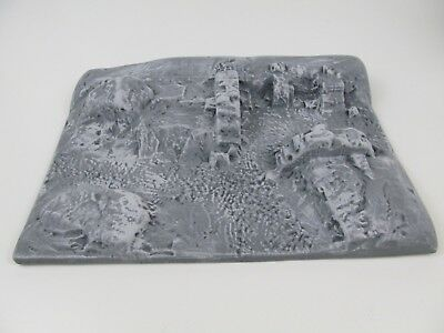 Amera 20-28mm Plastic Ruined Building Painted for Frostgrave Wargame Sigmar