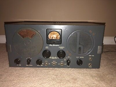 """Hallicrafters S-20R """"""""SKY CHAMPION""""""""""""  VERY NICE CONDITION"""