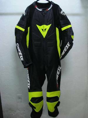 Dainese  leather suit 1piece Replica for motorcycles size S,M,L,XL,XXL,3XL