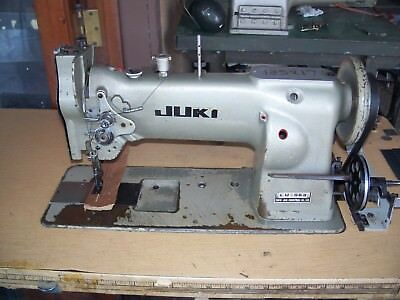 JUKI LU 40 Big Bobbin Reverse Walking Foot Industrial Sewing New Juki Lu 563 Walking Foot Industrial Sewing Machine