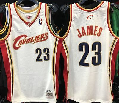 31353ce7ebfd Lebron James Cleveland Cavaliers Nba Hardwood Classic Throwback Rookie  Swingman