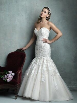 Allure Couture C331 Bridal Gown Size 10 wedding dress BNWT rrp $4,425