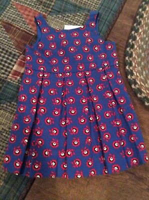 NWT Janie And Jack Baby Girls Lined Dress...size 3-6 Months
