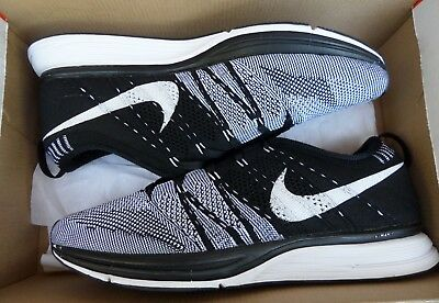 3248a060eb51 OG 2012 Nike Flyknit Trainer Black White Oreo SOLD OUT Rare retro size 8.5