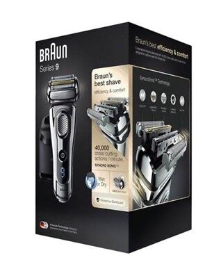 Braun 9295cc Series 9 Wet&Dry Electric Shaver With Warranty, NIB SHIP FROM STORE