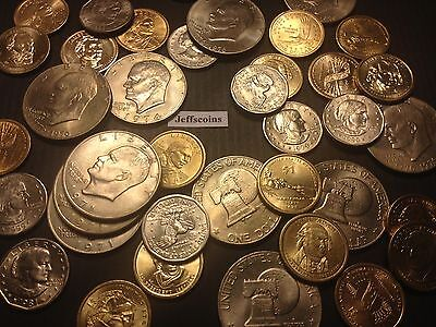 ☆US Dollar Coins Estate Lot☆ Sacagawea Anthony Presidential Eisenhower +Silver☆
