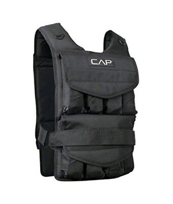 CAP Barbell Adjustable Weighted Vest Only Weight Not Included