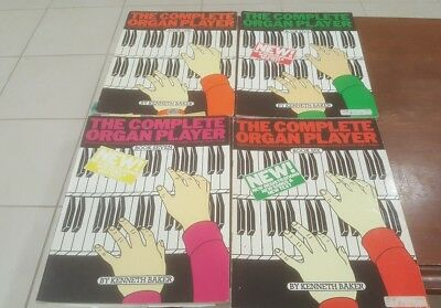 The Complete Organ Player 4 Volume Book Set