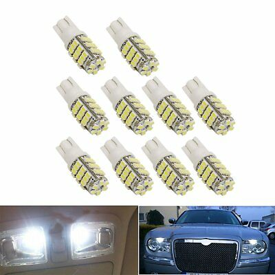 10x Car T10 LED 1206 42smd Light 42 smd w5w 12v White Interior Vehicle Bulb Lamp