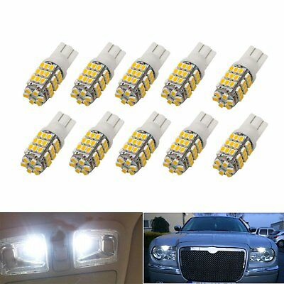 10x Car T10 42 smd LED 1206 Light 42smd w5w 12v Tail Parking White Interior Lamp
