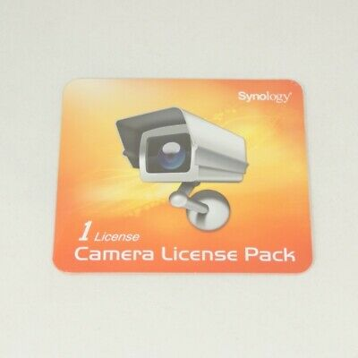 Synology Surveillance Station 1 Camera Device License Pack