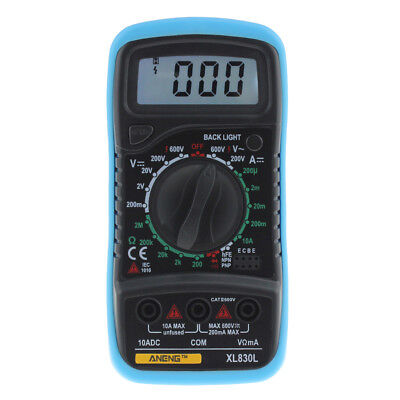 ANENG AN8008 True-RMS-Digitalmultimeter 9999 zählt Square Voltage Amperemeter