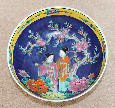"""A Superb 8.3"""" Early C20th Japanese High Footed Enamel Famille Verte Gilt Bowl"""