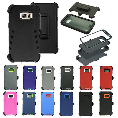 Defender Case for Samsung Galaxy S6 edge Plus w/ Screen(Belt Clip fit Otterbox
